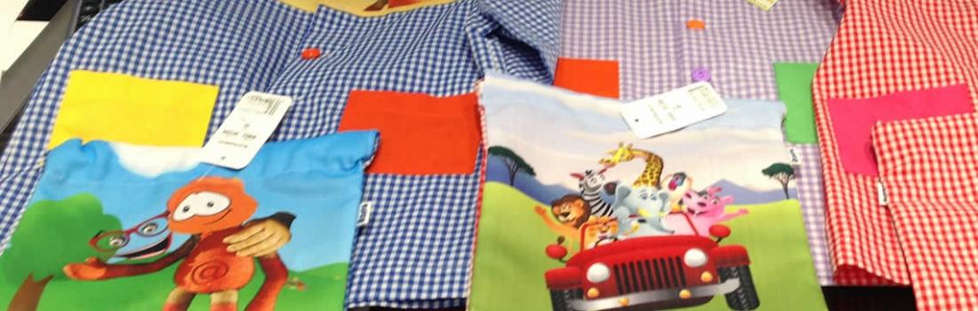 Batas y bolsas escolares